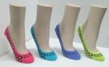Ladies Cotton / Acrylic Fashion Sock