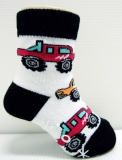Cars Baby Boy Cotton socks with rubber soles