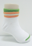 Double Layers Baby socks with rubber soles