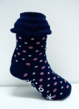 Cake cup cuff Baby Girls socks with non-skid at bottom