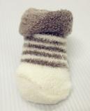 Plain striped baby socks