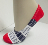 fashion cross cotton knitted socks