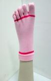 ladies stripe yoga pilates 5 toe non-slip sock