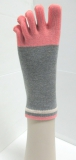 colorful cheap comfortable 5 toe sock