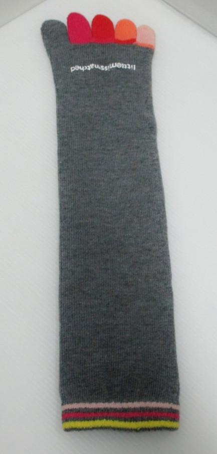 fancy funny toe socks